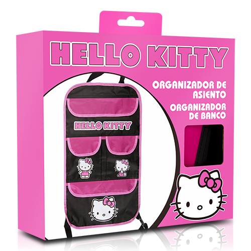 ORGANIZADOR ASIENTO HELLO KITTY CS 6