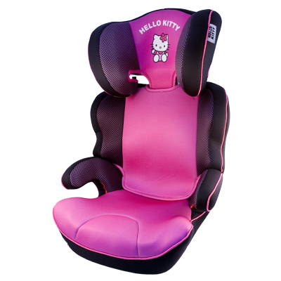 CHAIR HELLO KITTY BLACK BOTTOM GROUP 2-3 ECE R44 / 04 CS2