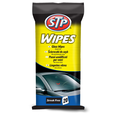 WIPES 6 UDS GLASS CLEANER X 20 WIPES