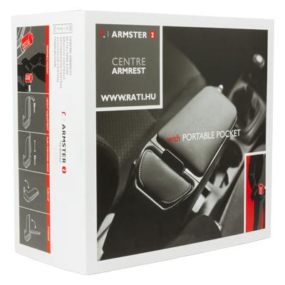 ARMREST NOIR / GRIS ASTRA H