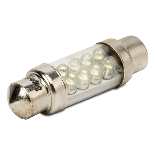 PLAFONIER BULB 8 LED 36MM WHITE ENERGY SAVING