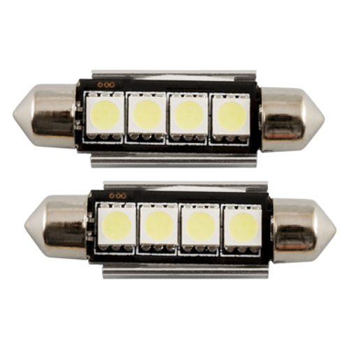 BULB PLAFONIER 4 LED 42 MM HP CAN-BUS BRANCO