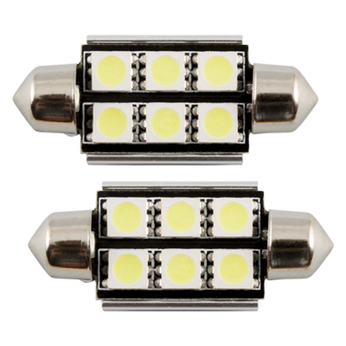 BULB PLAFONIER 6 SMD LED 39 MM WHITE