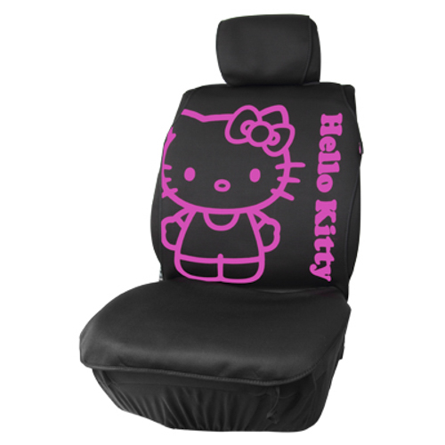 CUBREASIENTO HELLO KITTY NEGRO CS 4