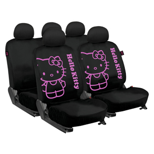 GAME SLEEVES BLACK HELLO KITTY CS2